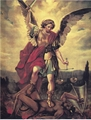 St. Michael Warrior 8x10 unframed