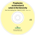Prophecies on terrorism and satan in the Vatican CD
