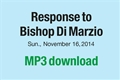 Response to Bishop Di Marzio (FREE mp3 download)