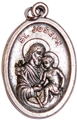 "St. Joseph (1"" antique silver zinc)"