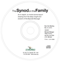 The Synod on the Family CD